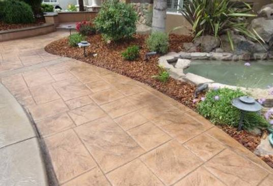 an image of a new patio repair in folsom, ca