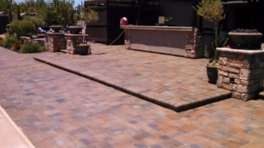 an image of a patio repair in elk grove, ca