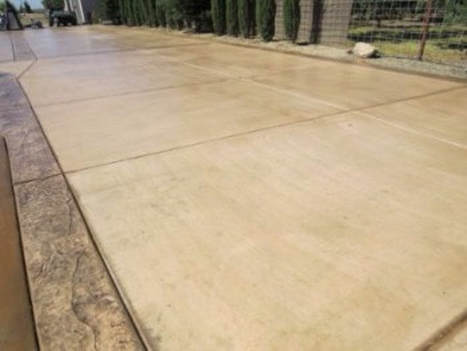 this is an image of concrete driveway resurfacing contractors